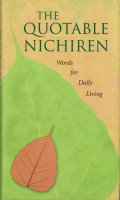 The Quotable Nichiren